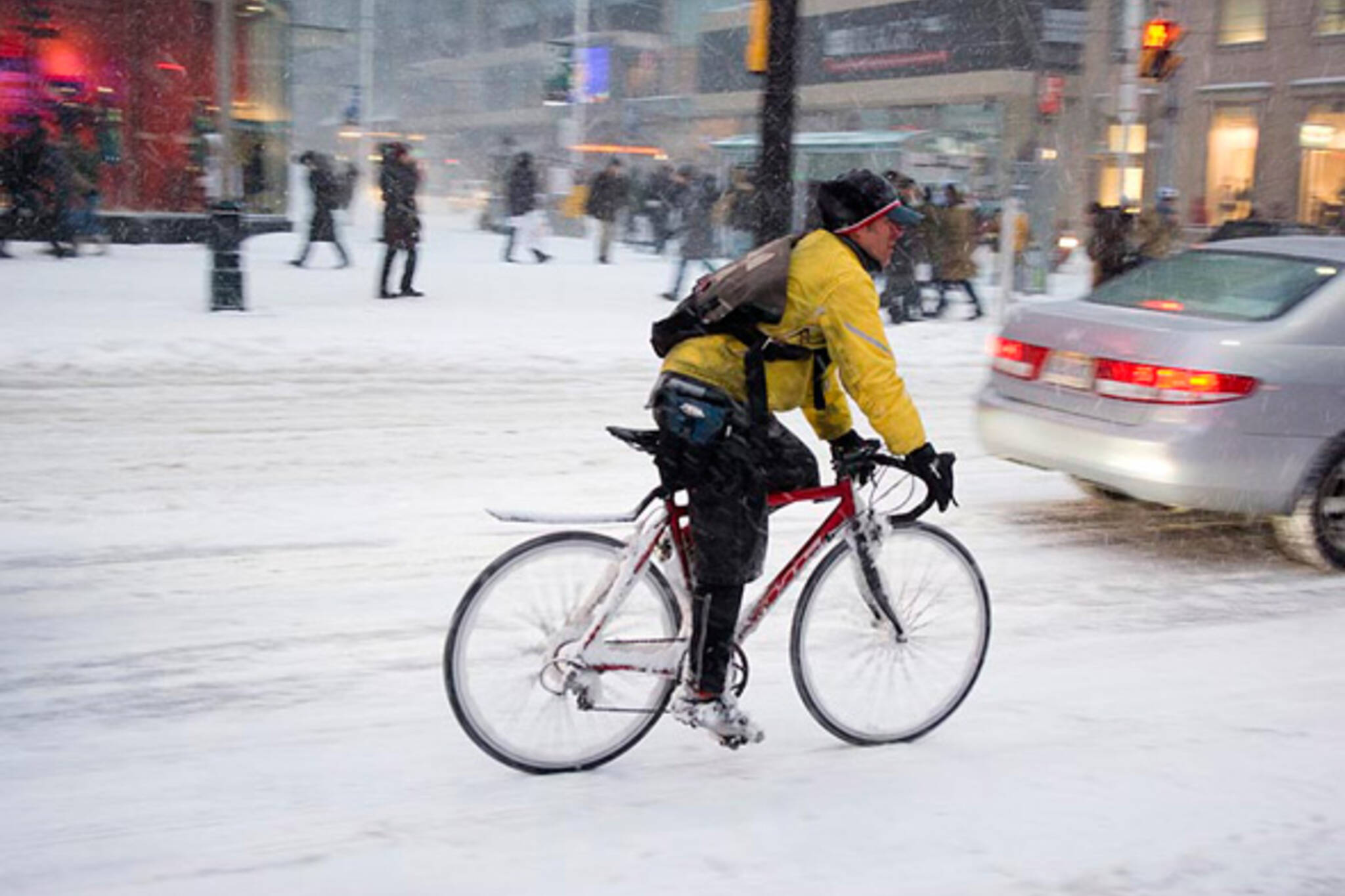 Winter Cycling Toronto
