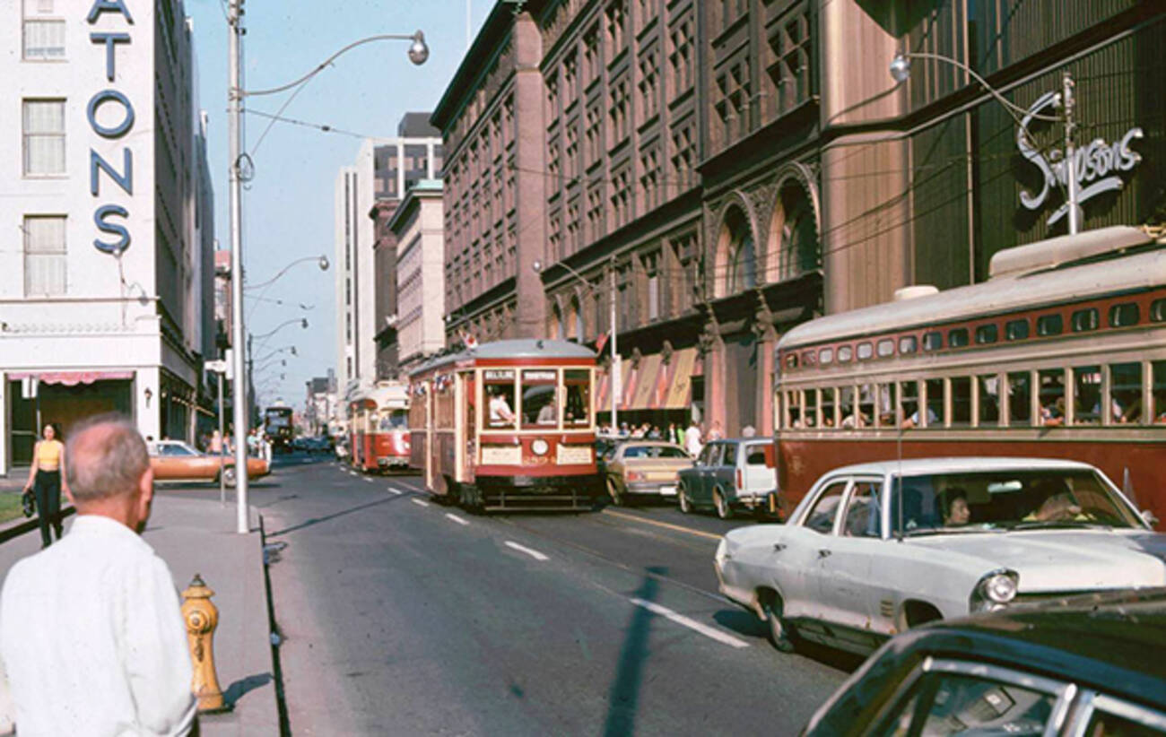 what department stores used to look like in toronto