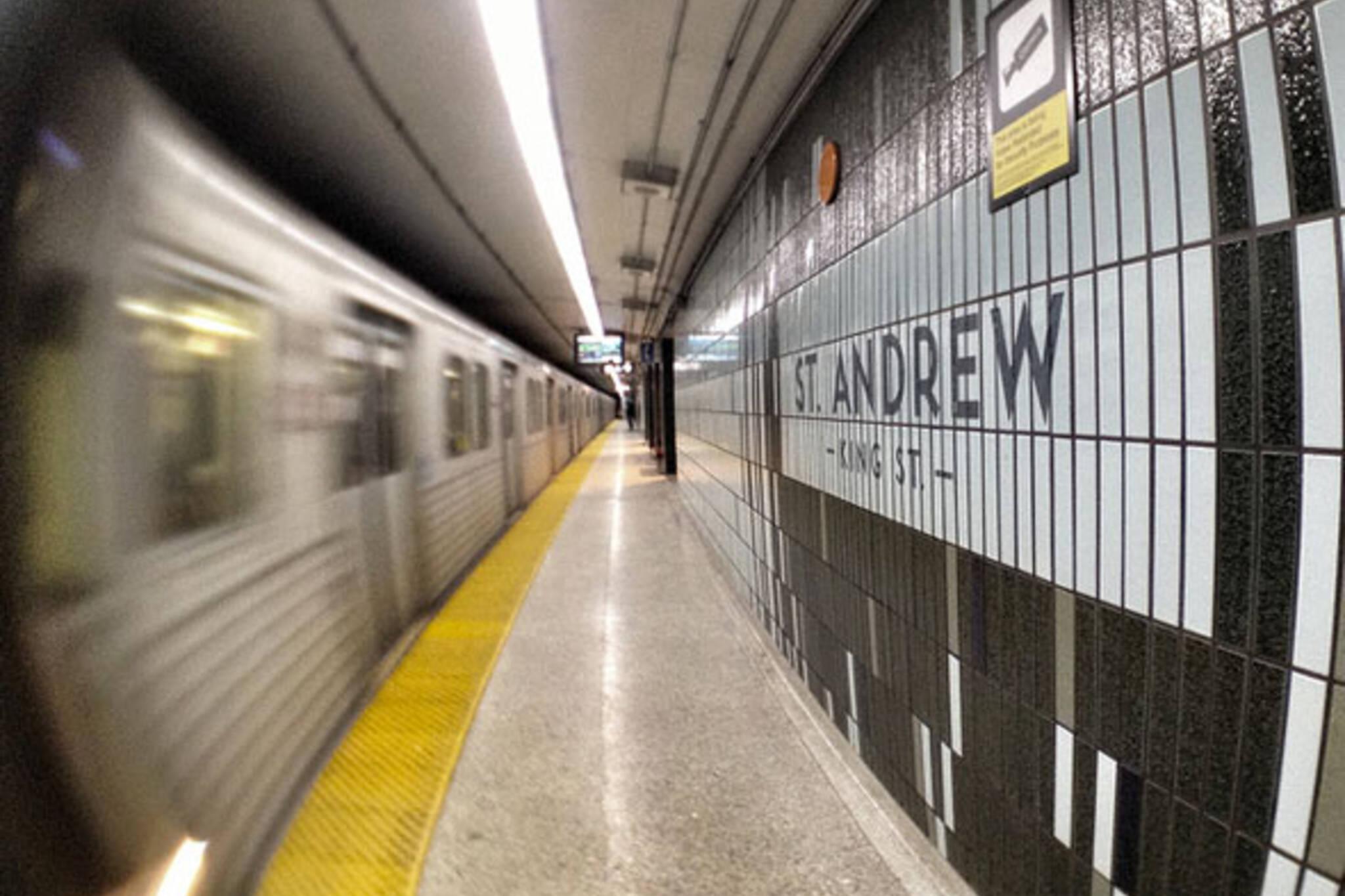 toronto st andrew station