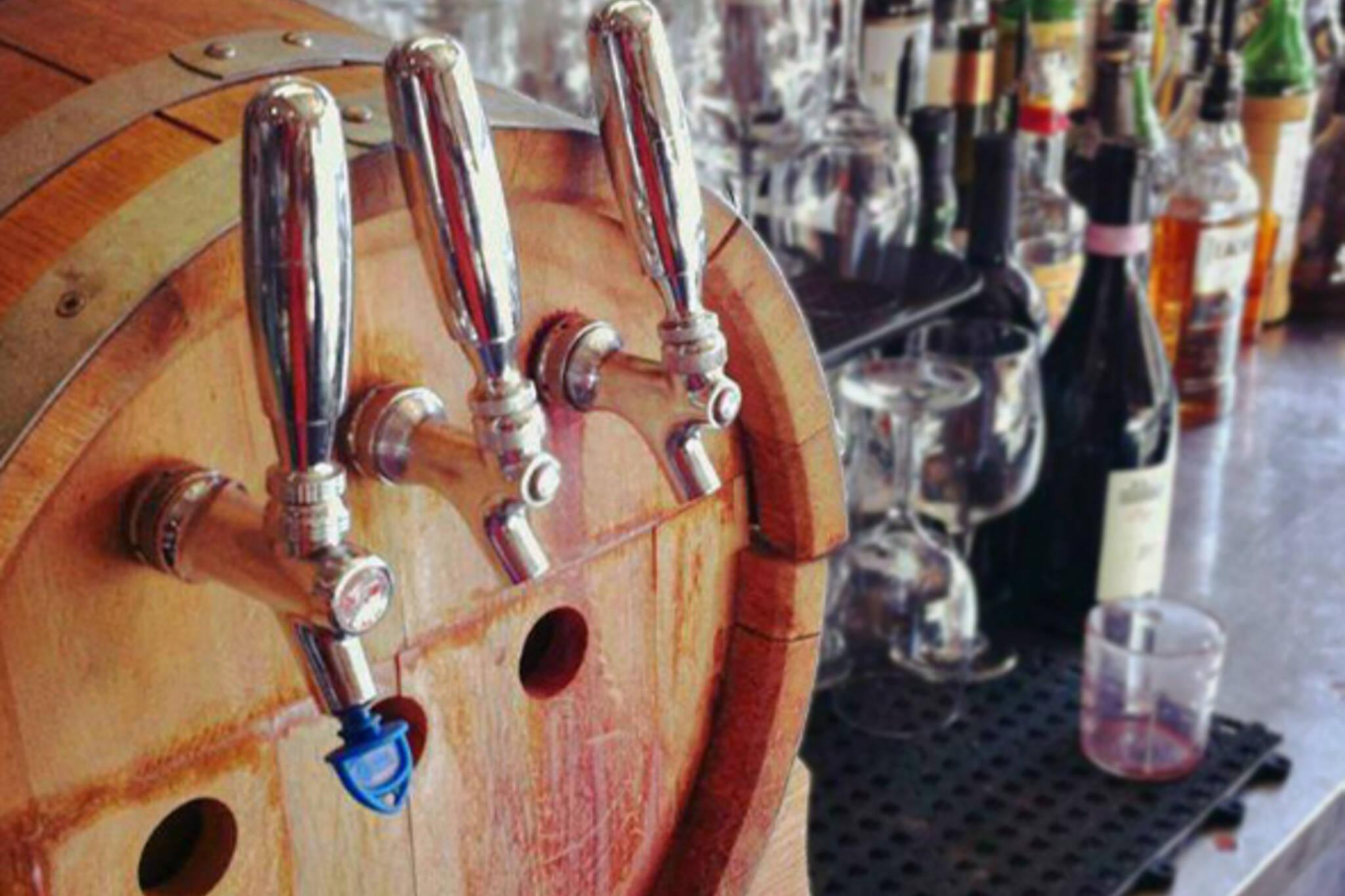 Wine on tap Toronto