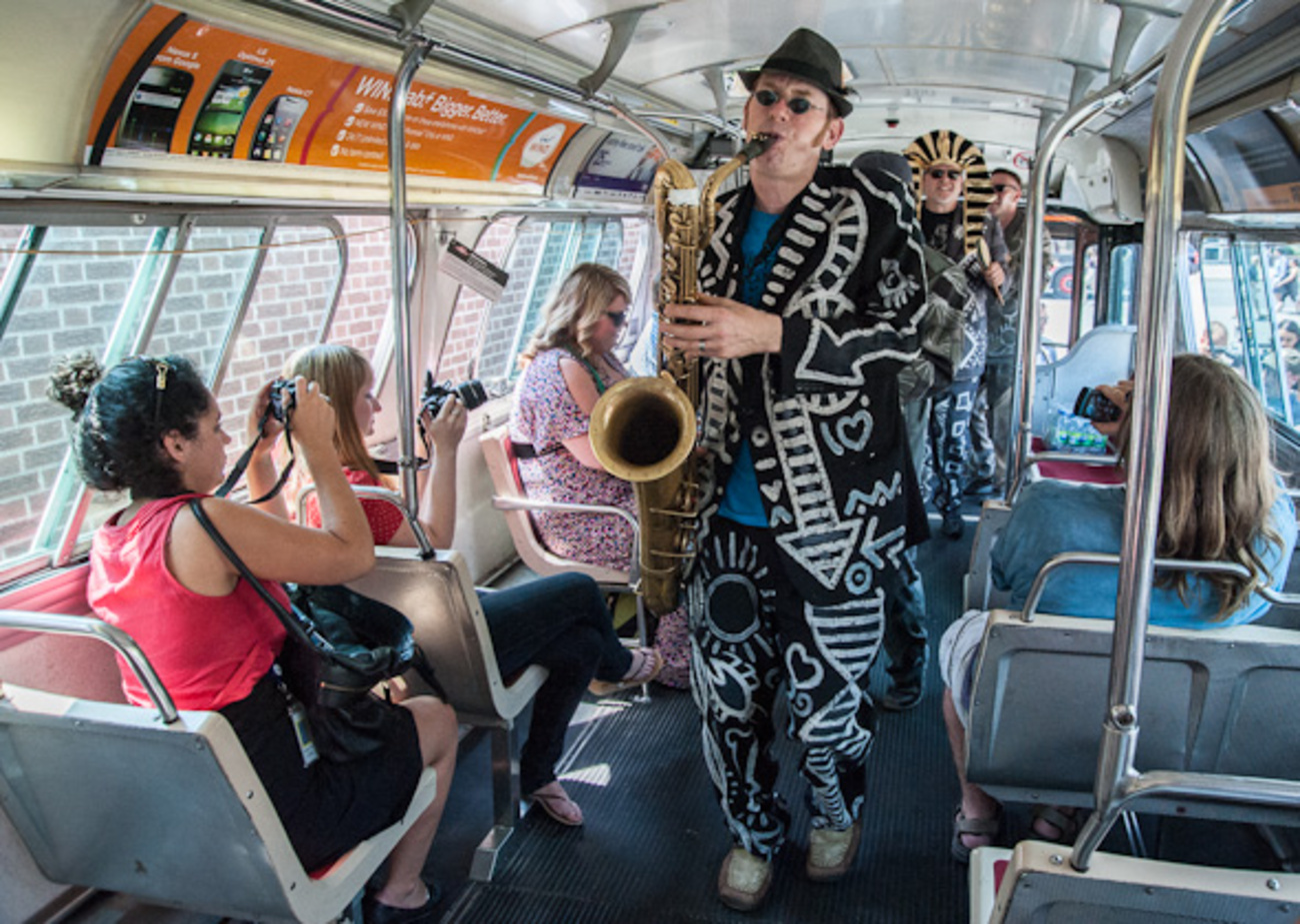 The Shuffle Demons Spadina Bus