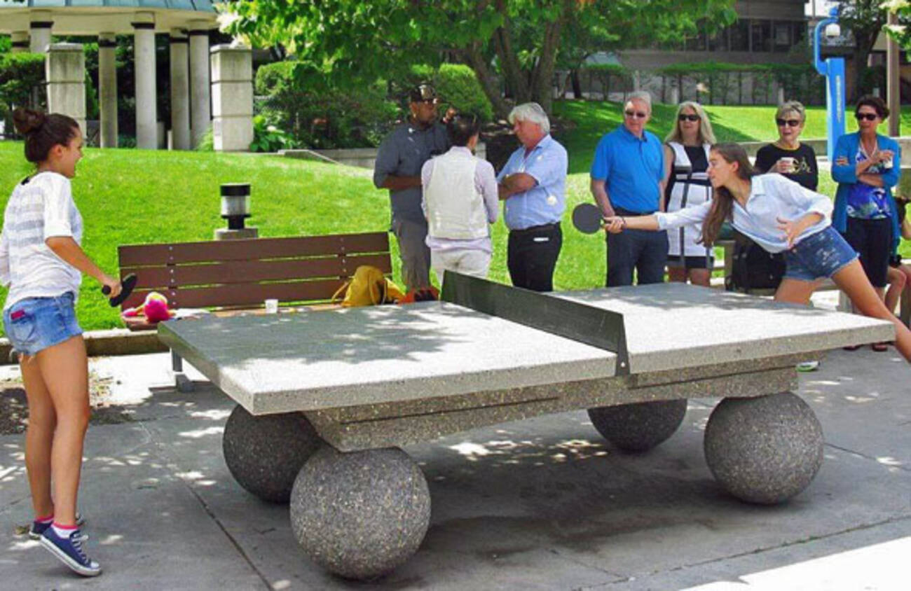 Where To Play Outdoor Ping Pong In Toronto