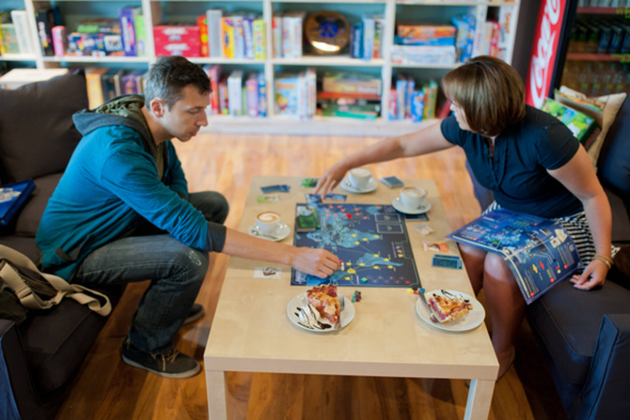 board game cafes toronto