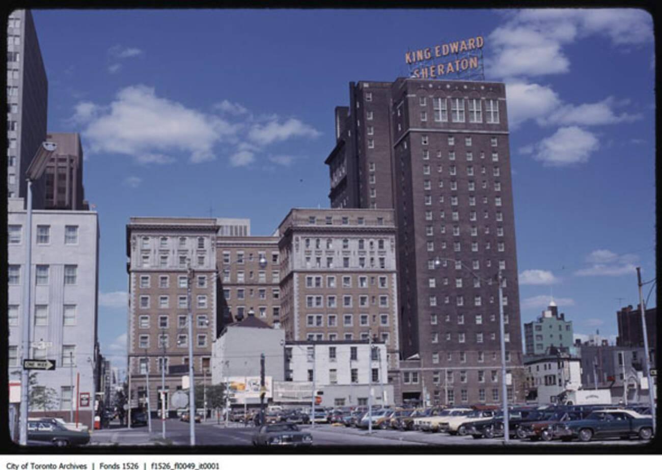 King Edward Hotel Downtown Toronto