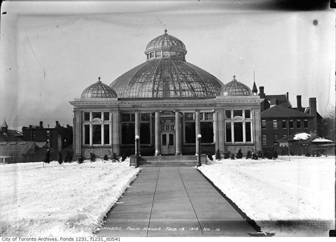 Allan Gardens historical photograph