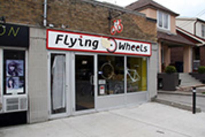 Flying Wheels