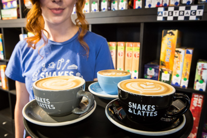 Snakes and Lattes (College St.)