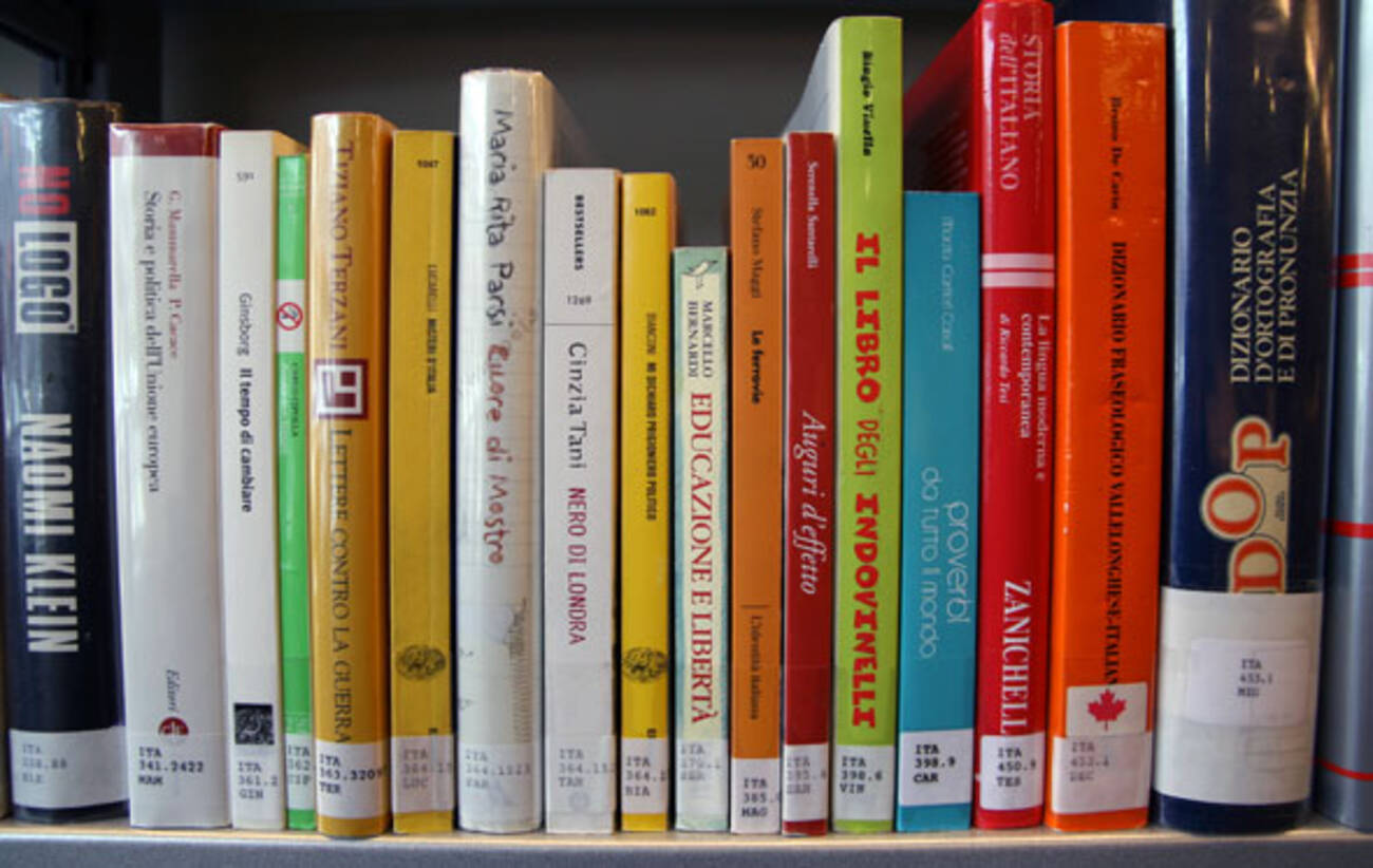 Italian Books Magazines Accessible Again
