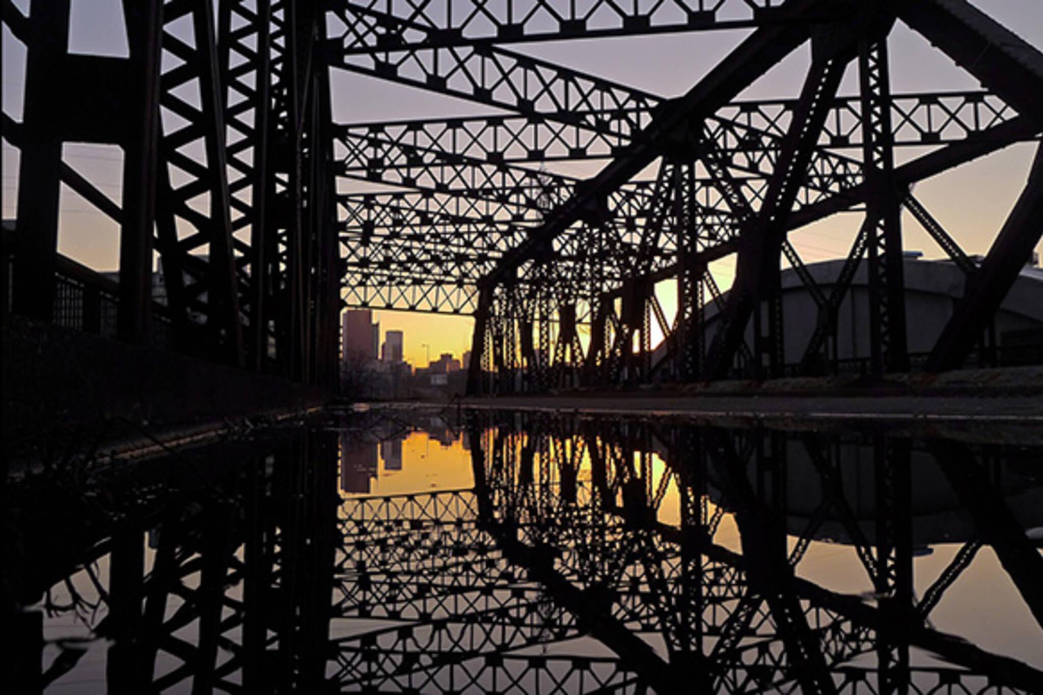Old Eastern Avenue Bridge Toronto