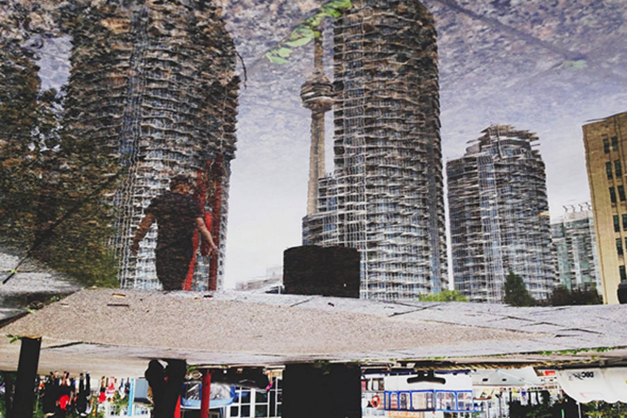 water reflection toronto