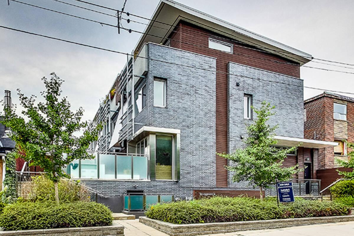 Condo of the week 56 lippincott street - Modern infill house cecconi simone ...