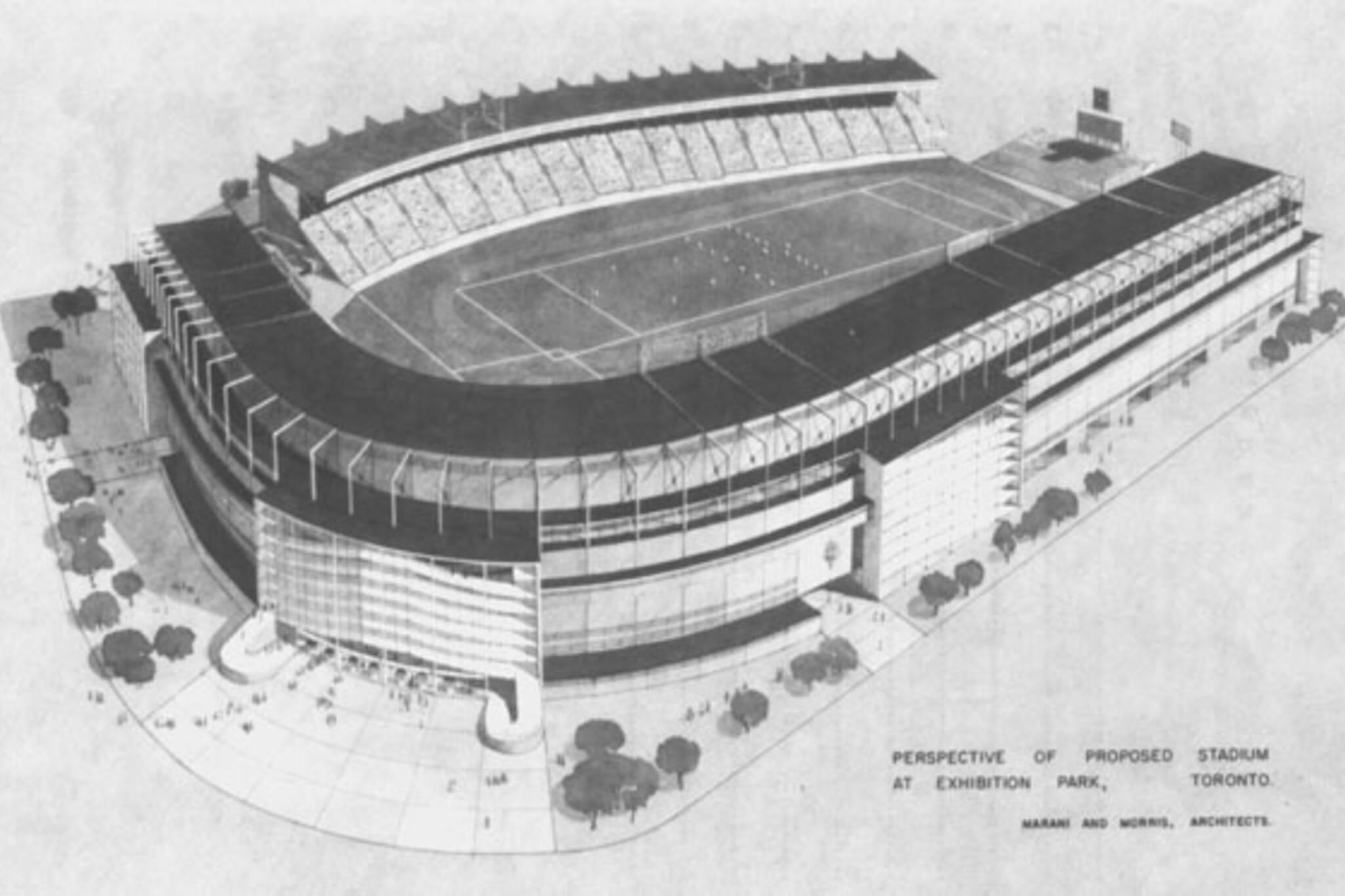 toronto exhibition stadium