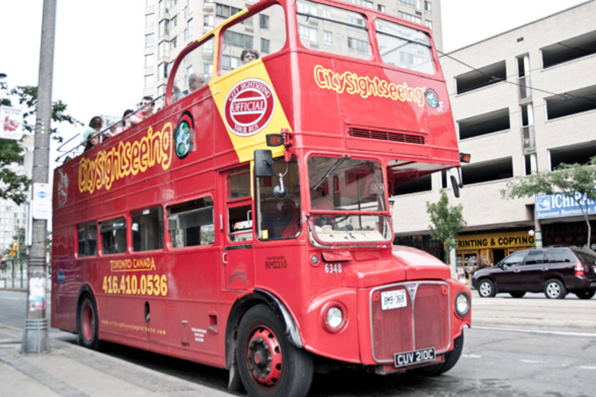 Toronto sightseeing bus tour