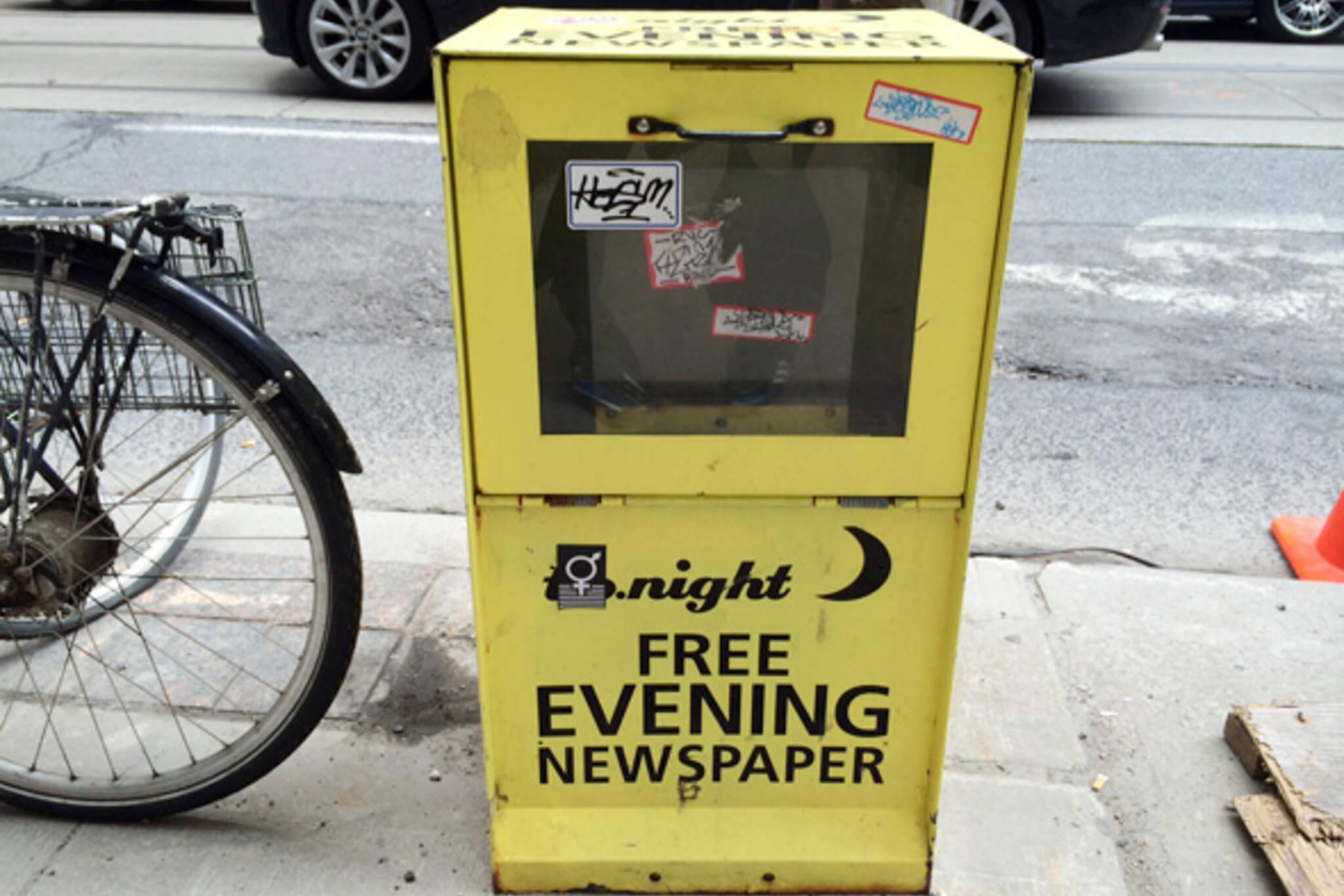 tonight newspaper