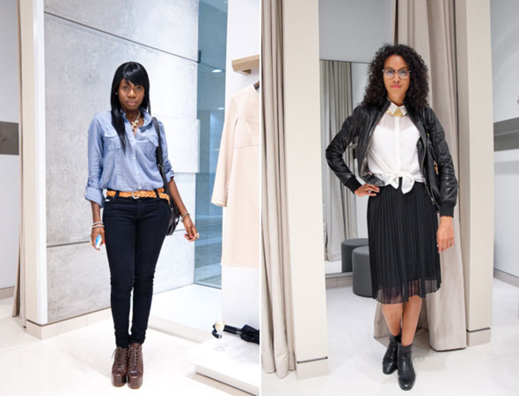 Luxe Report September 2012 Street Style: at the Judith & Charles store opening