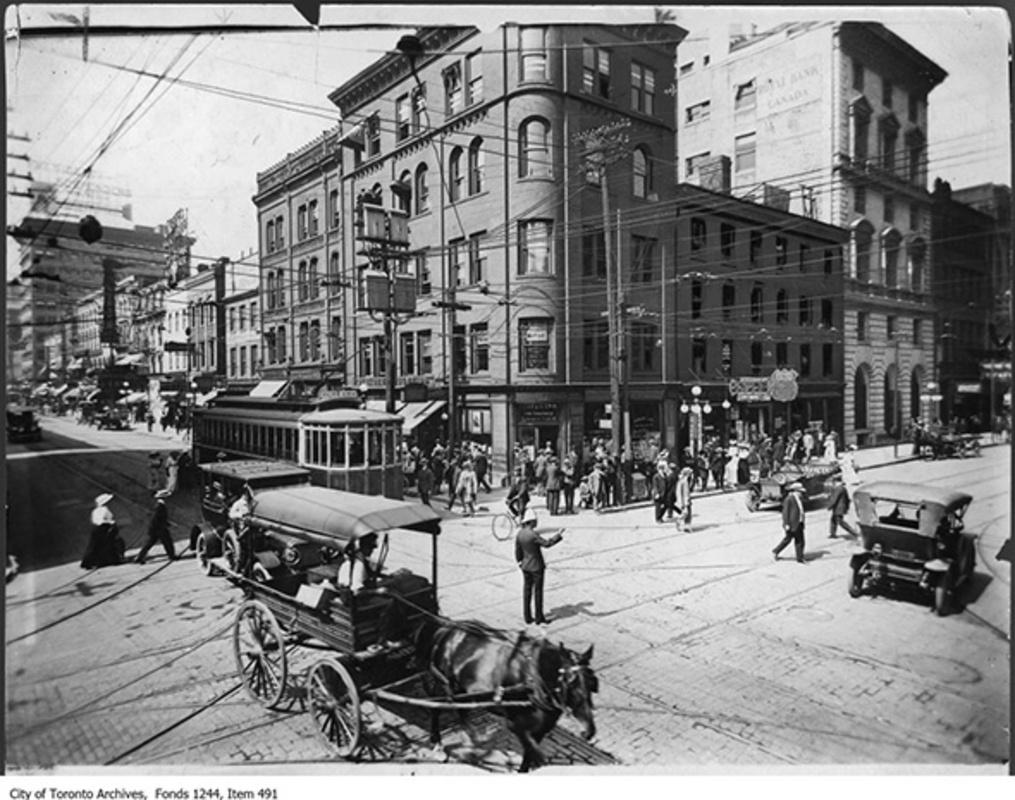 King Street Toronto history