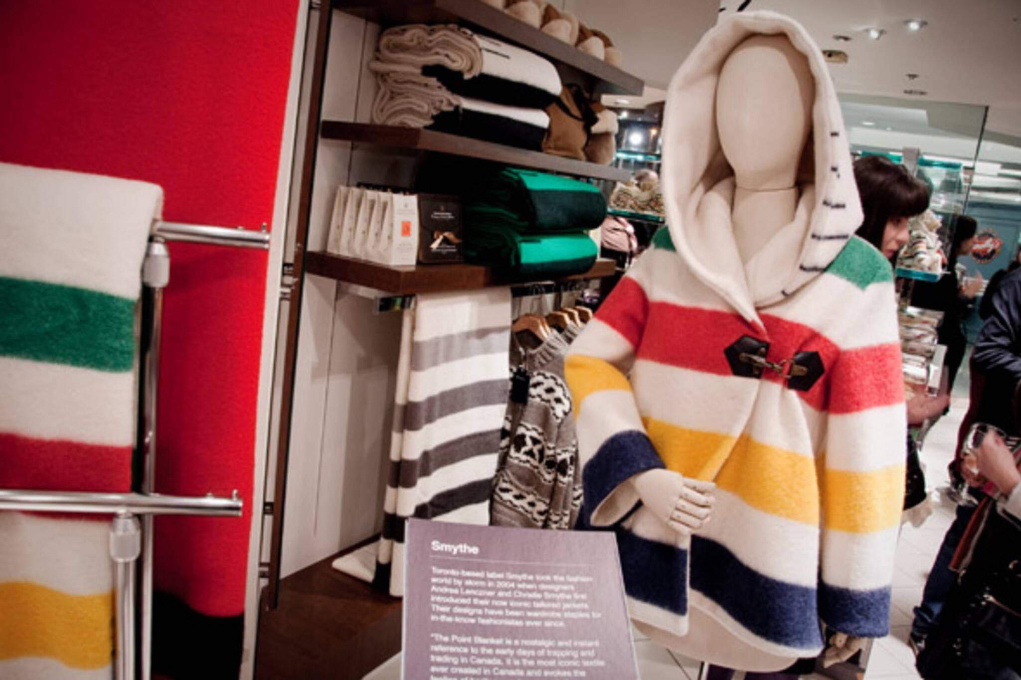 Hudson Bay Blanket Jacket
