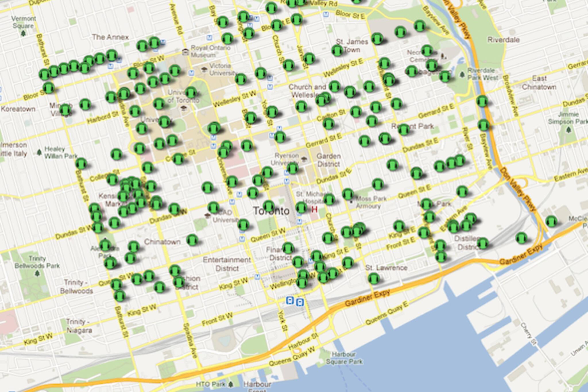 Toronto Sound Map