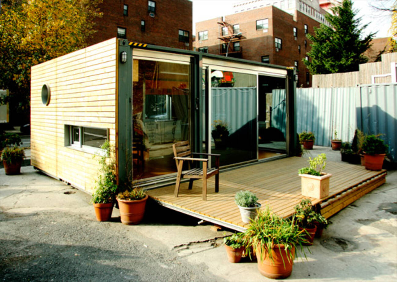 Toronto based company 39 s prefab home goes viral for Prefabricated shipping container homes