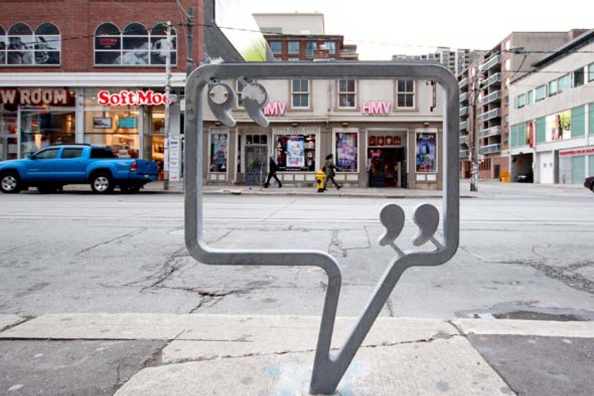 OCADU Bike Stand Queen Street
