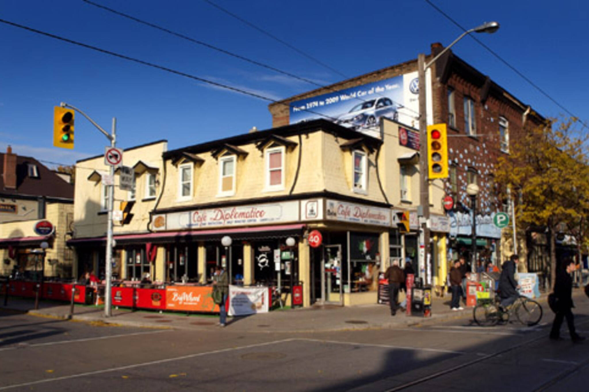The Café Diplomatico in Little Italy