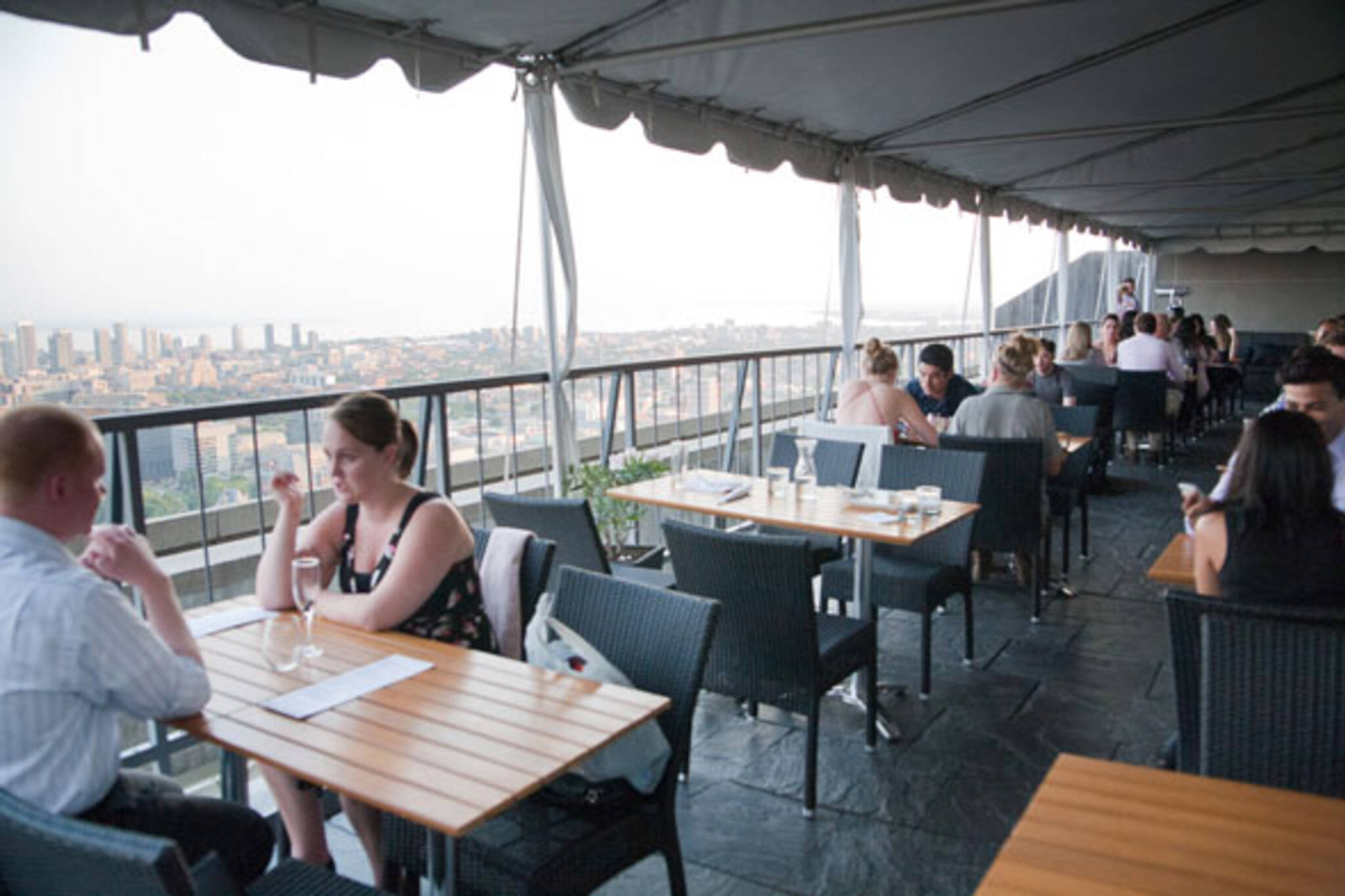 highest patios toronto