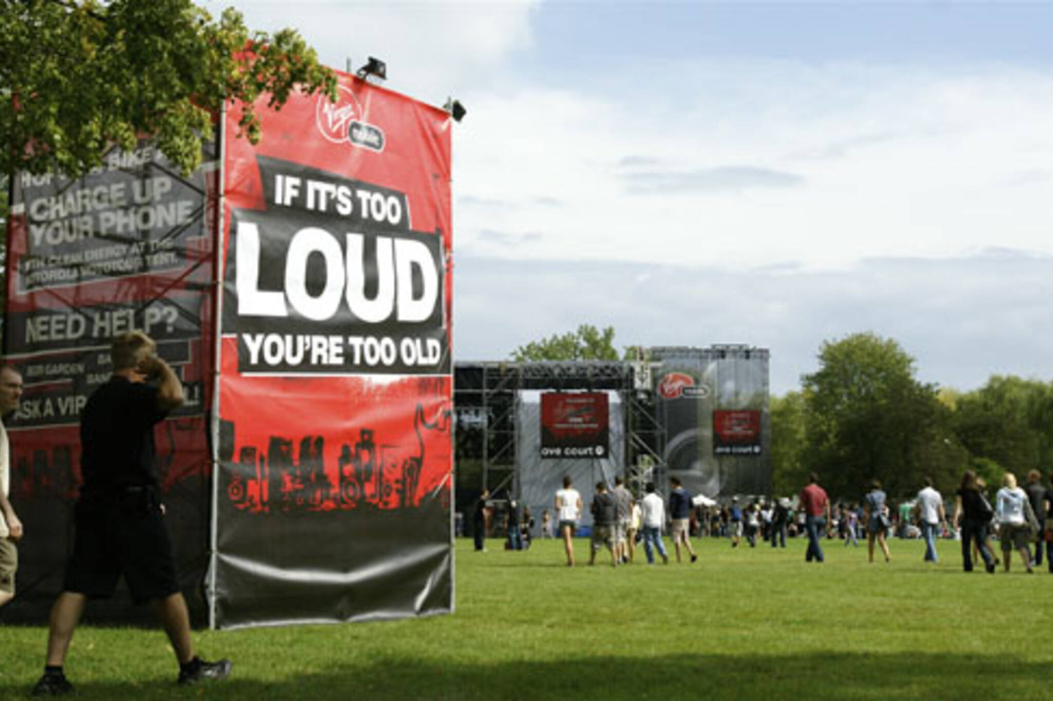 Sign of the Times at the Virgin Music Festival in Toronto