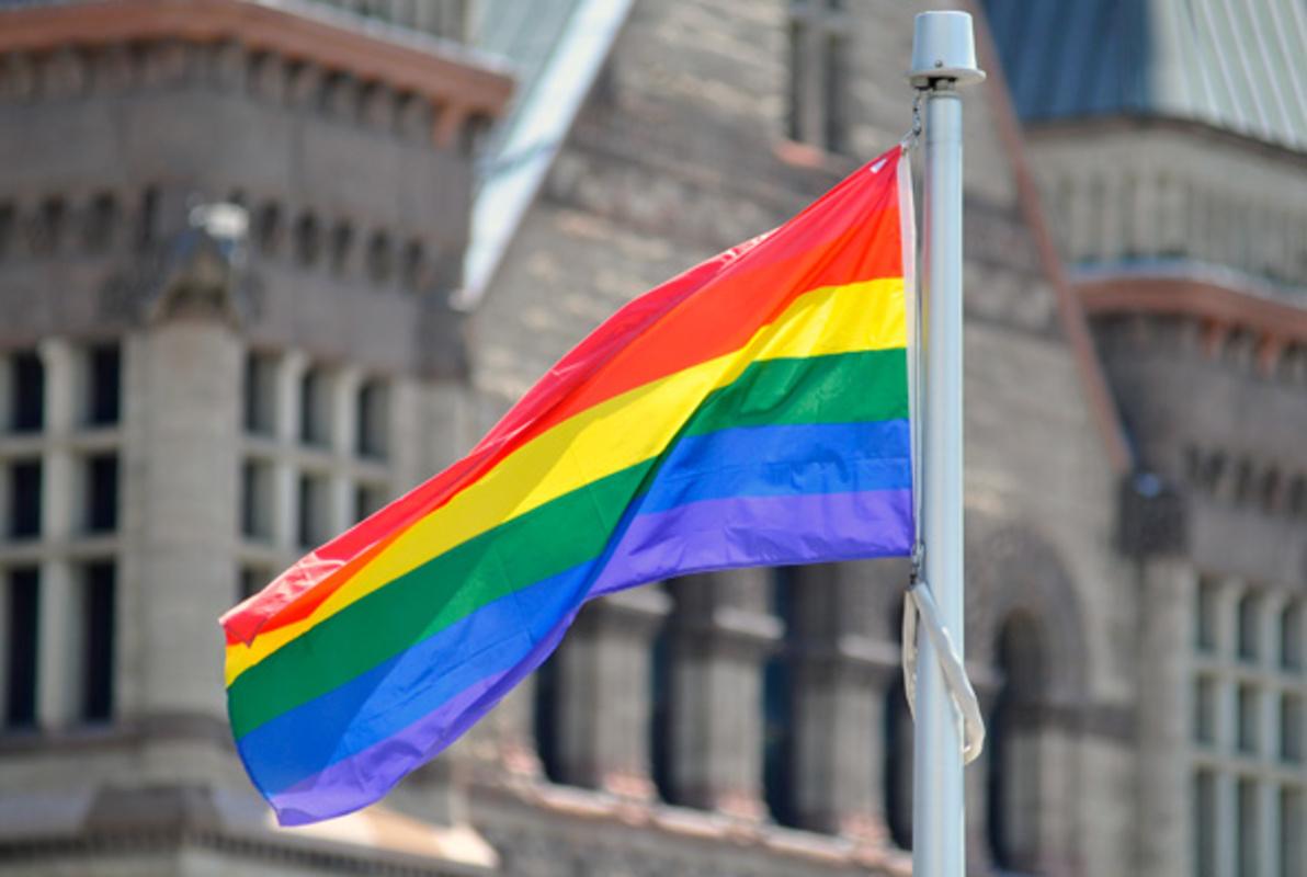 Rob Ford Pride Flag