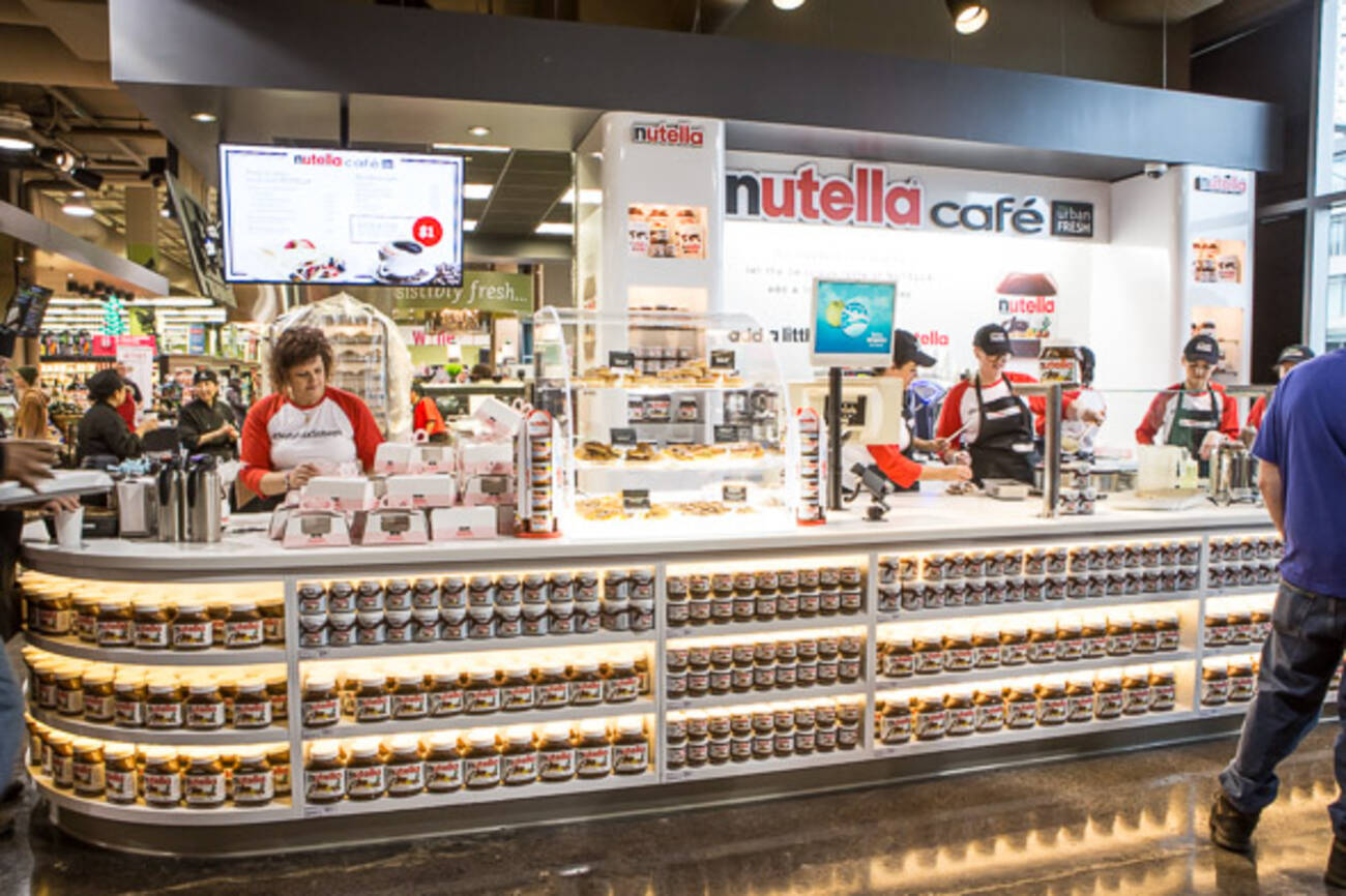Nutella Cafe London