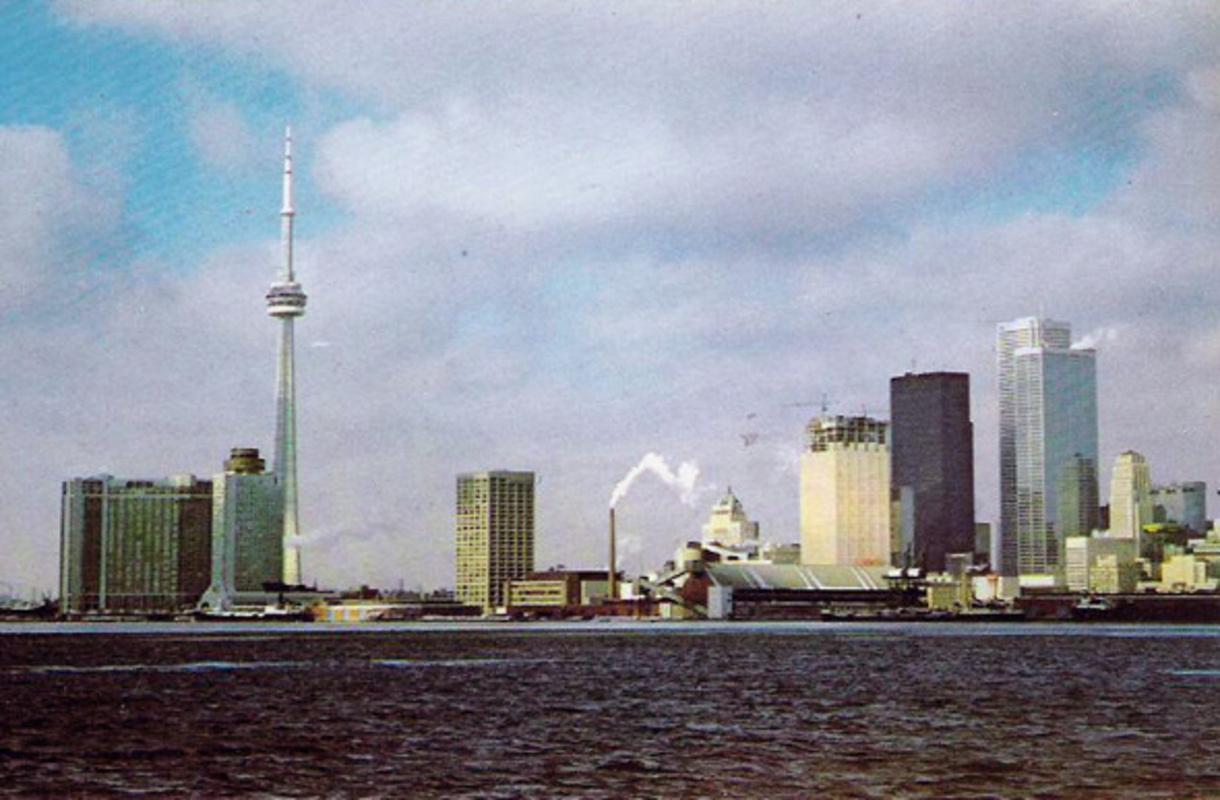 Toronto skyline 1970s