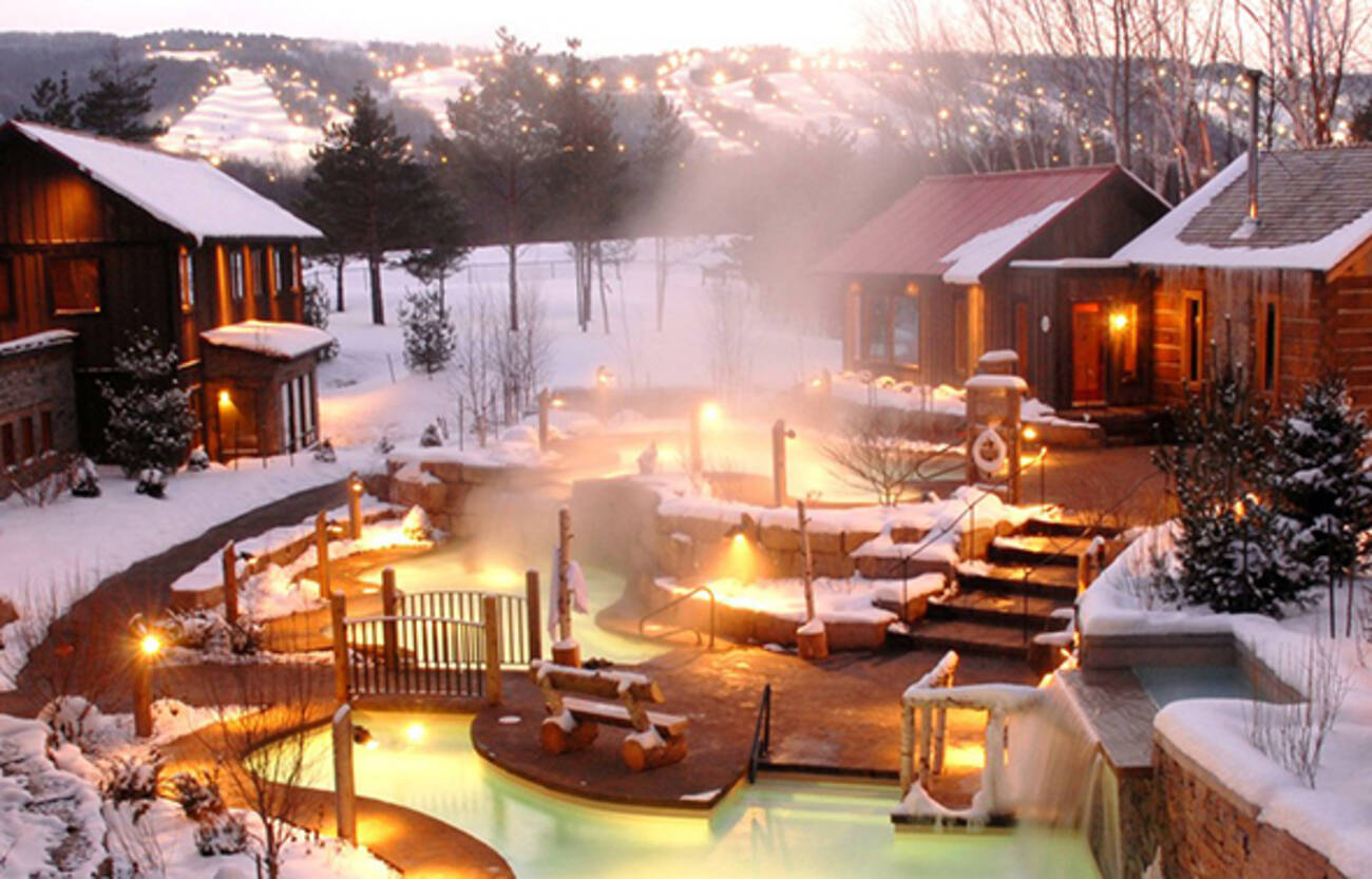 The top 10 winter weekend escapes from toronto for Romantic weekend getaways from dc