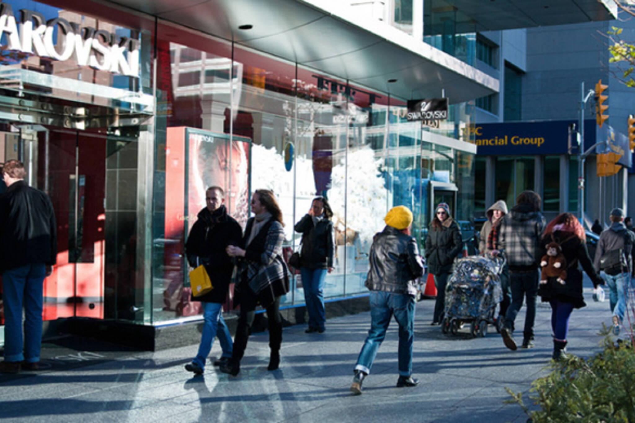 Bloor Street Shopping Toronto