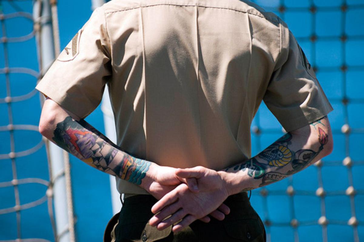 tattoo, military, service