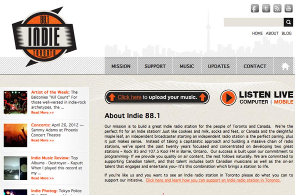 Indie Toronto Radio
