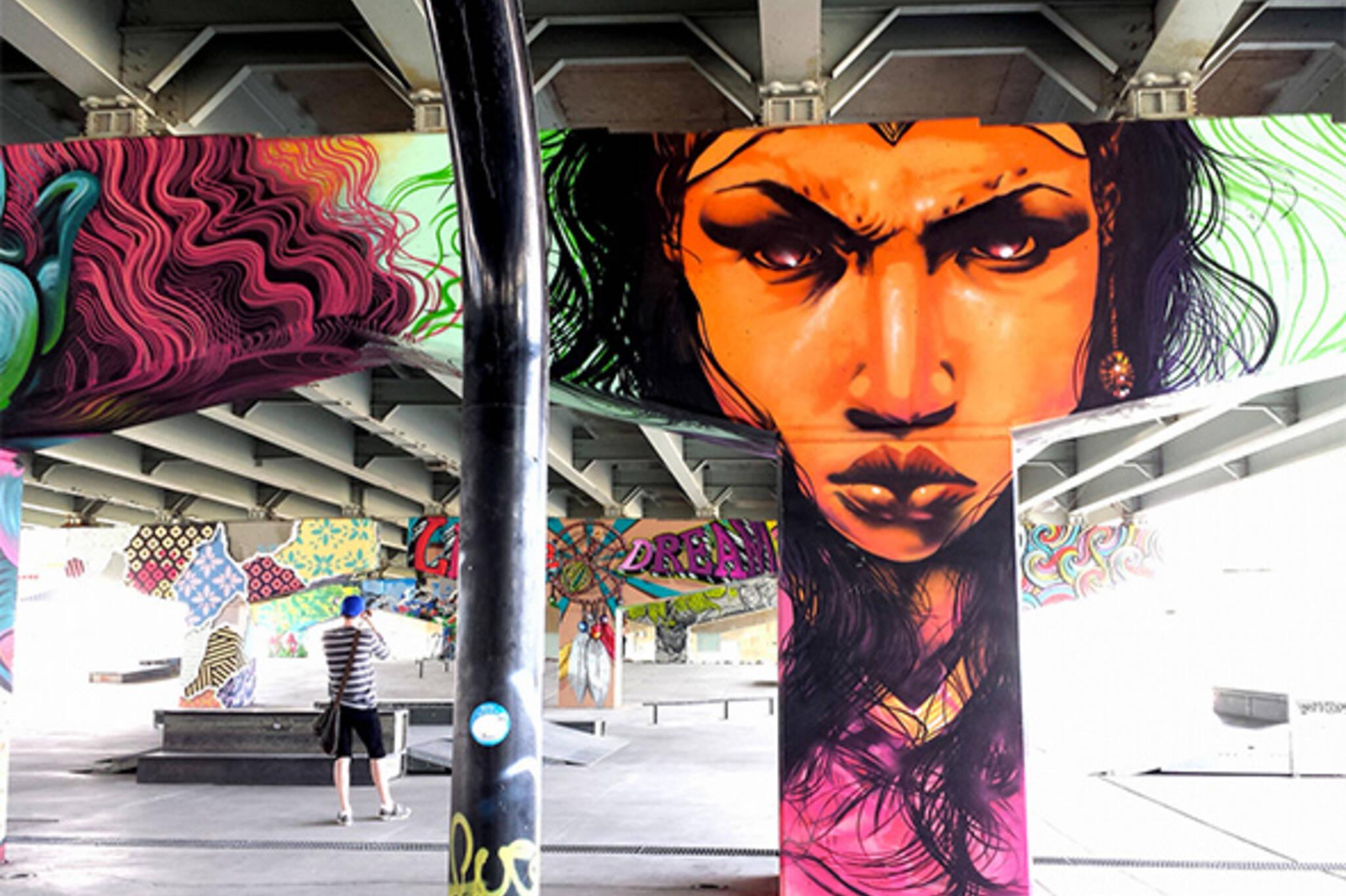 Underpass park graffiti