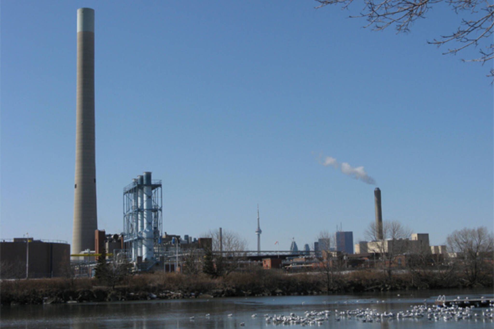 Ashbridges Bay Water Treatment Plant