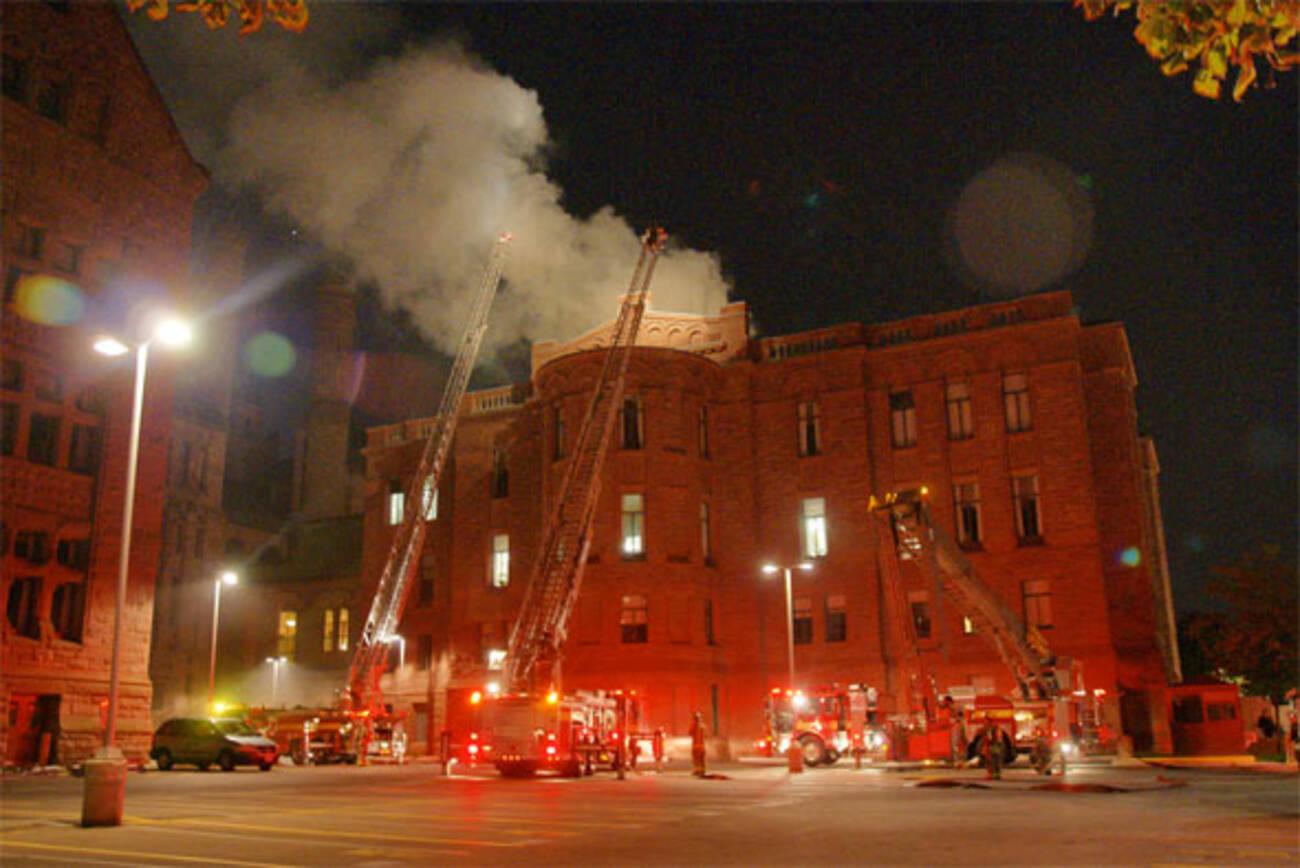 Queen S Park Fire