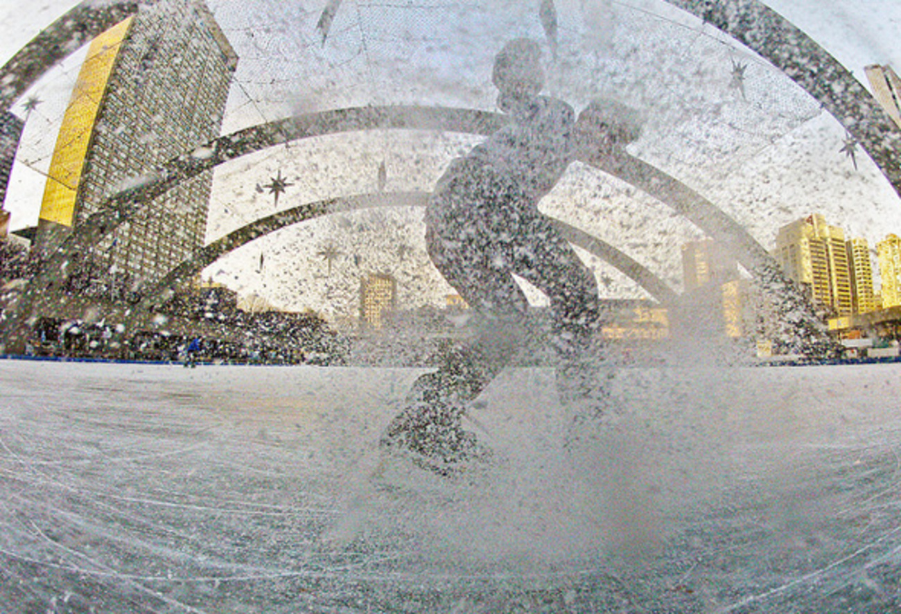 outdoor ice skating in toronto