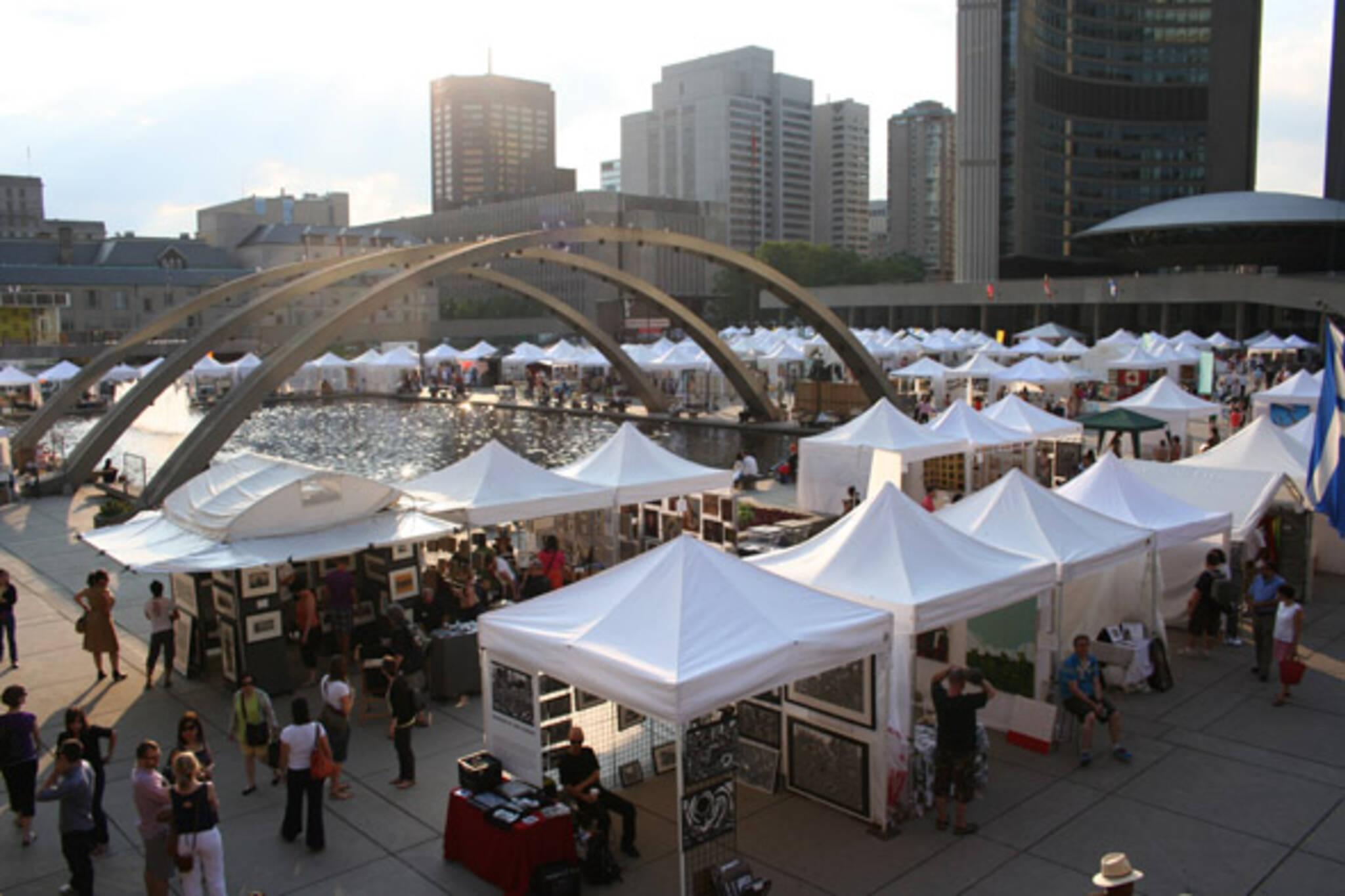 Toronto Outdoor Art Exhibition 2011