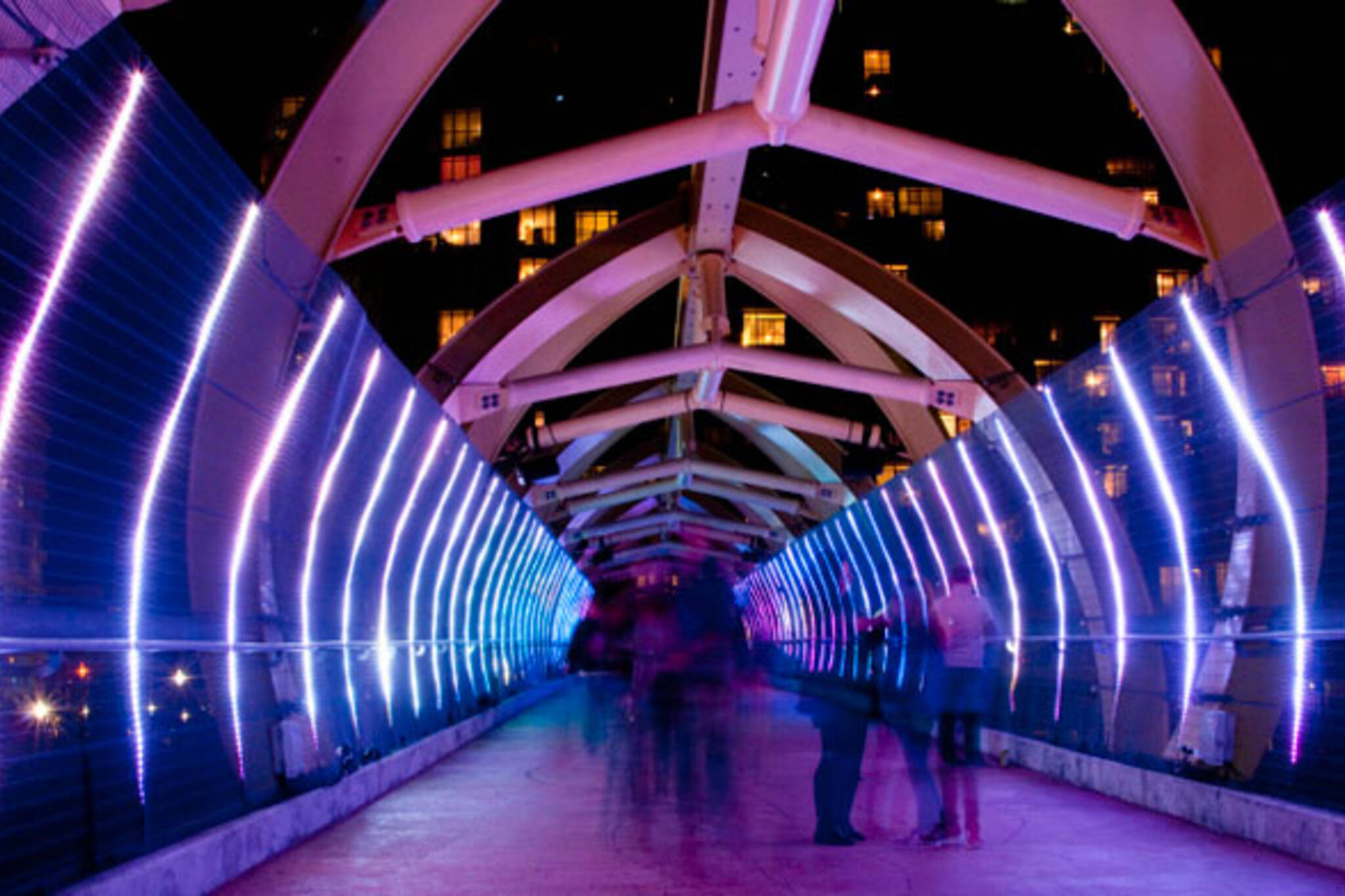 light tunnel toronto