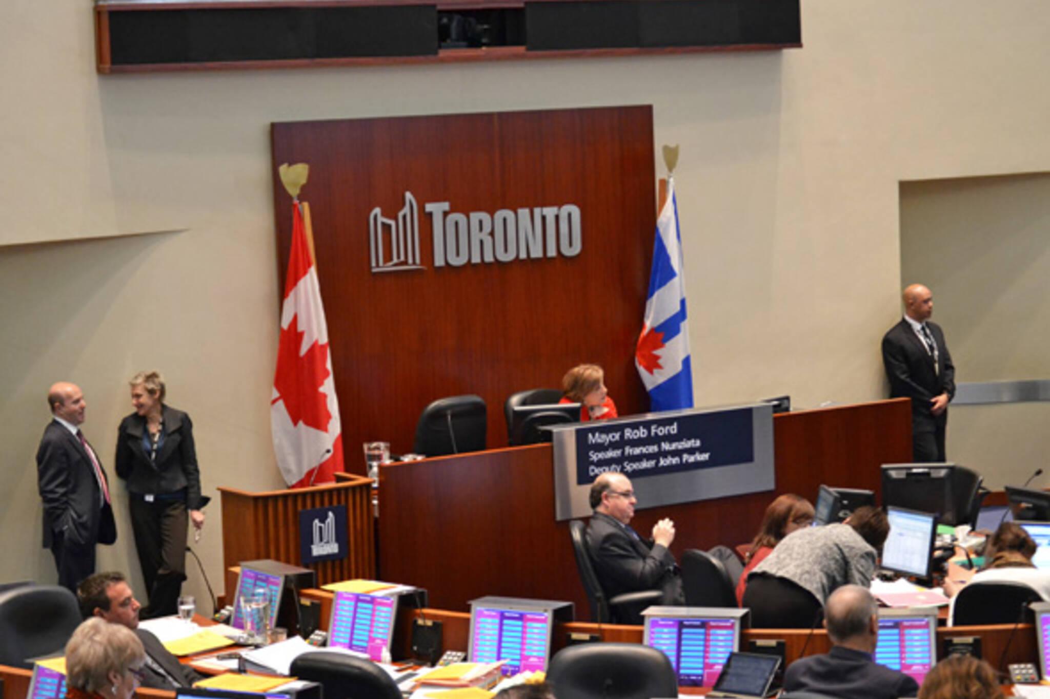 Toronto City Council 2012