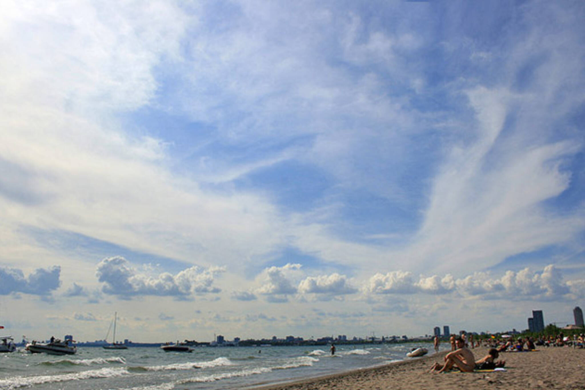 Hanlan's Point Beach