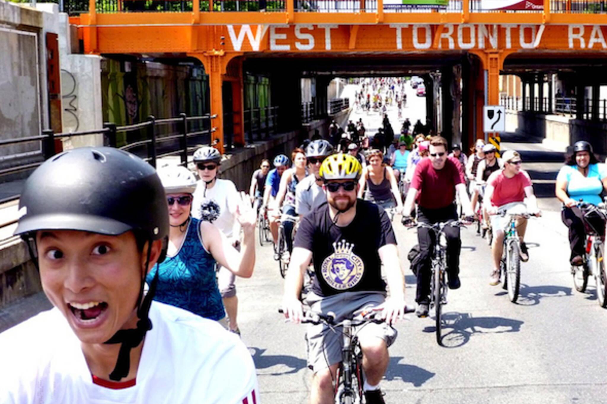 Toronto Bike Month 2012