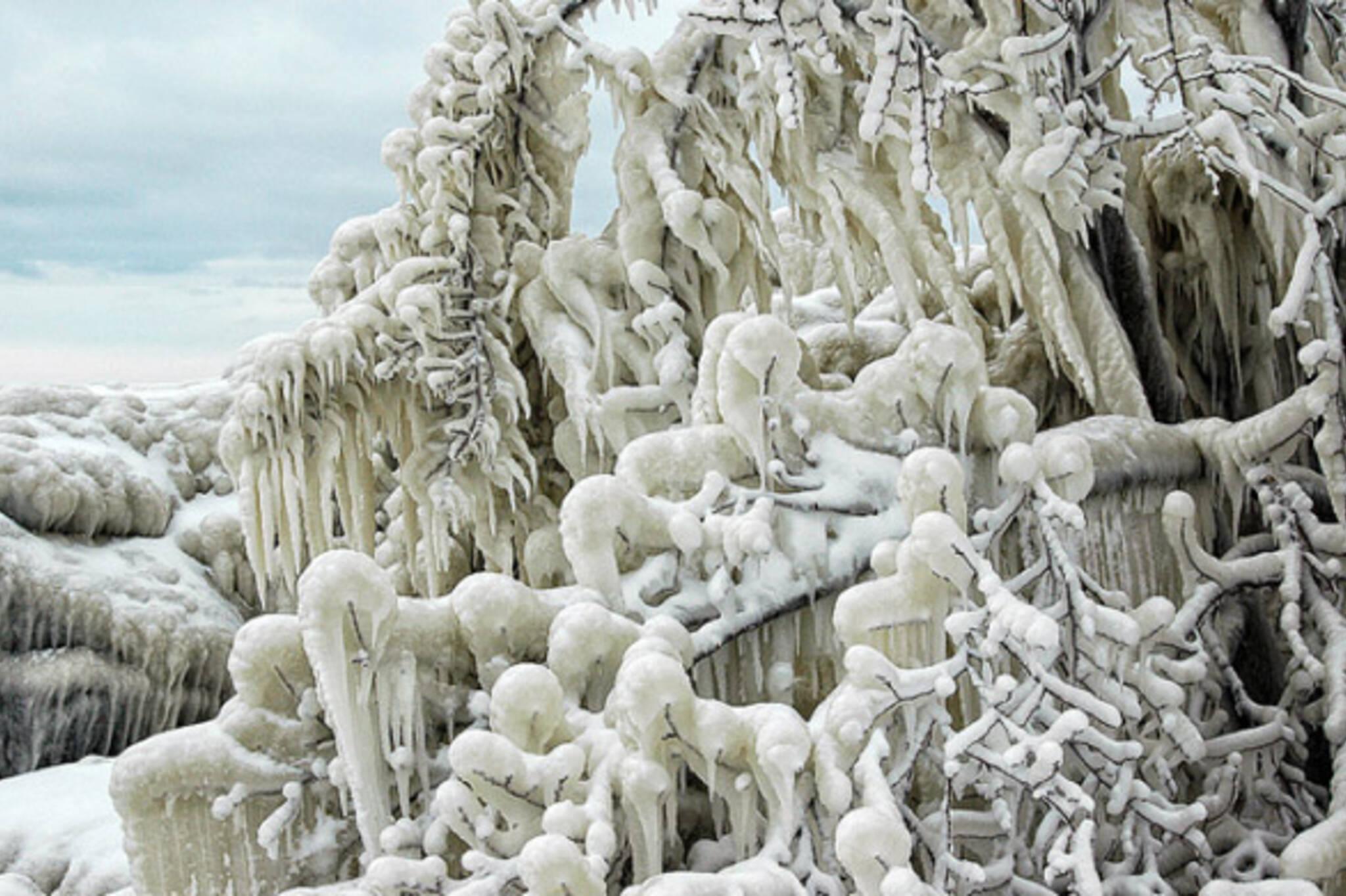 Toronto Ice formations
