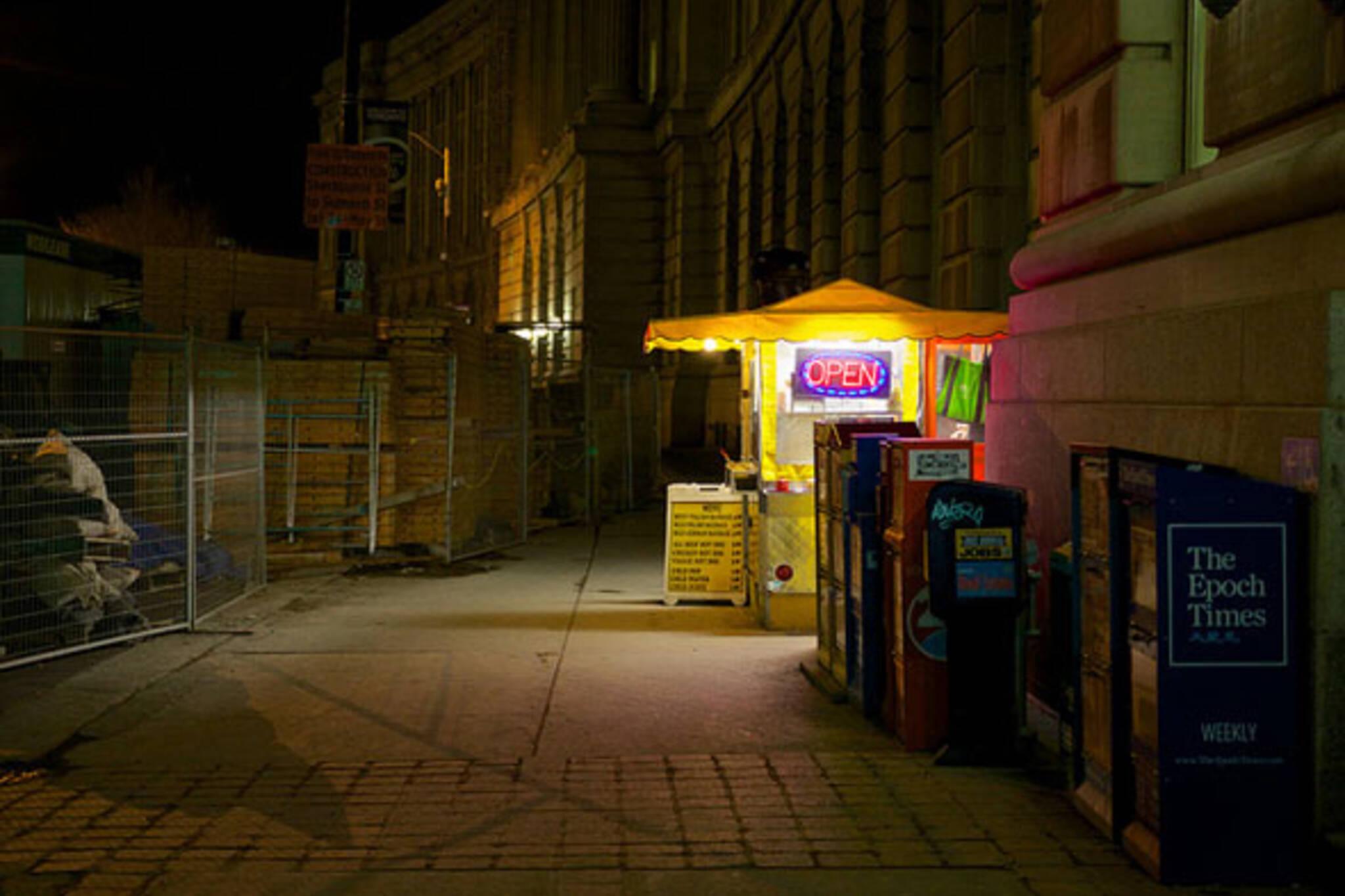 toronto food stand