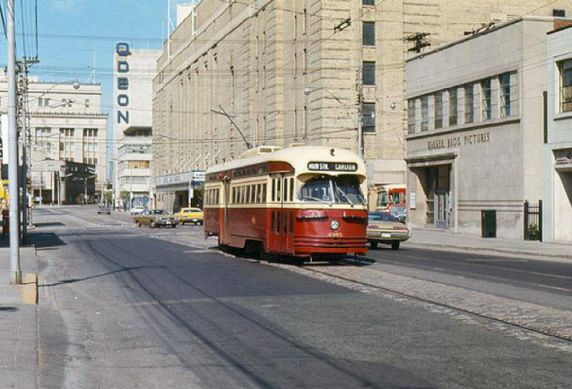 Toronto Streetcar History TTC