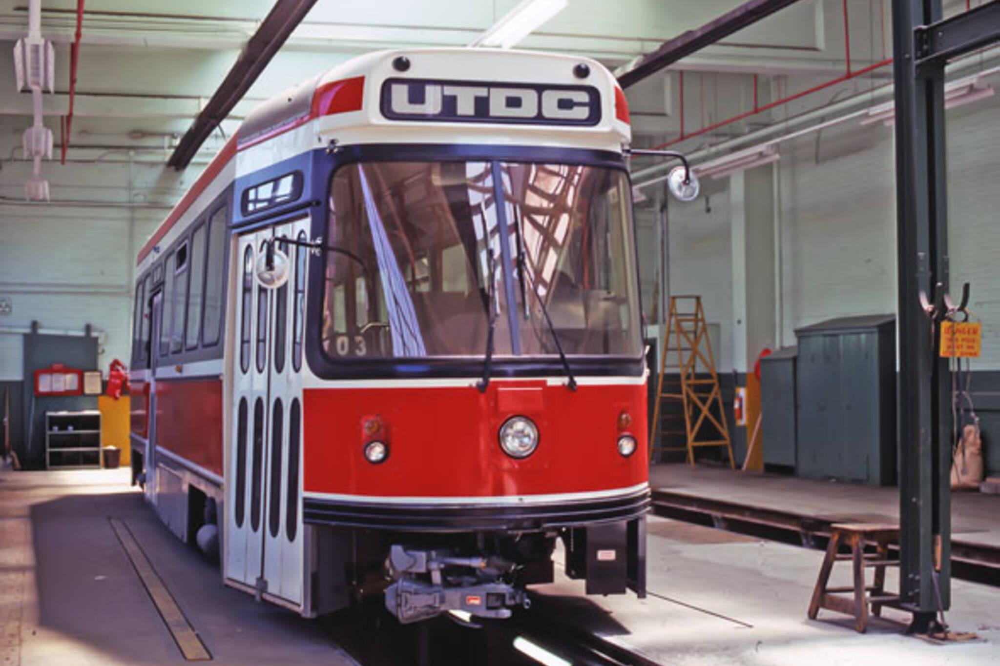 toronto clrv streetcar
