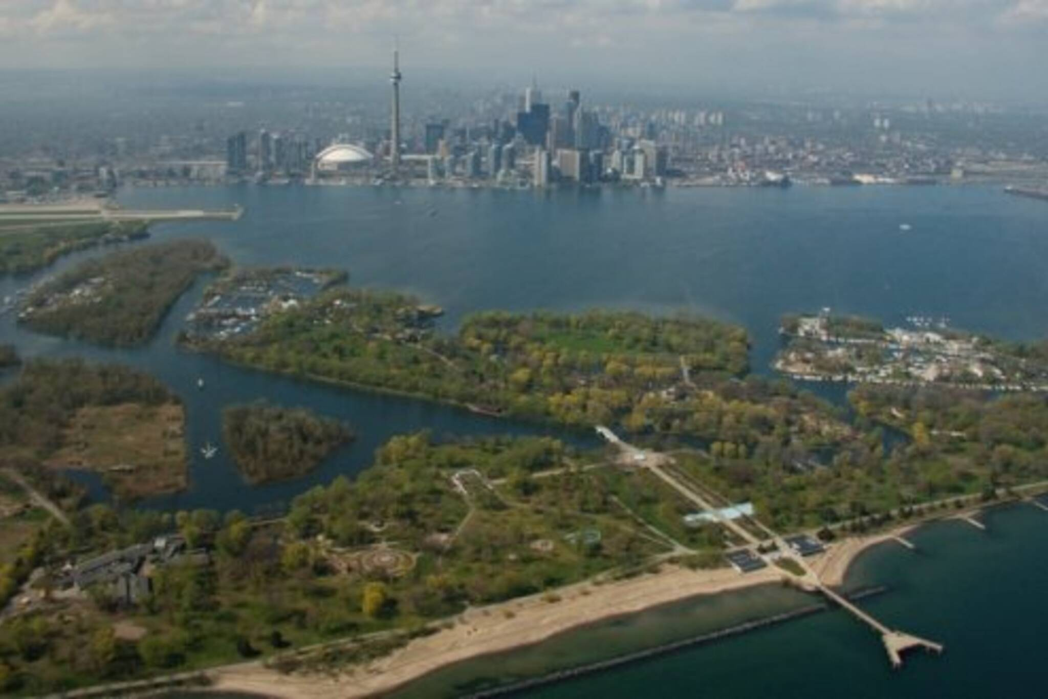 Toronto Skyline and Island