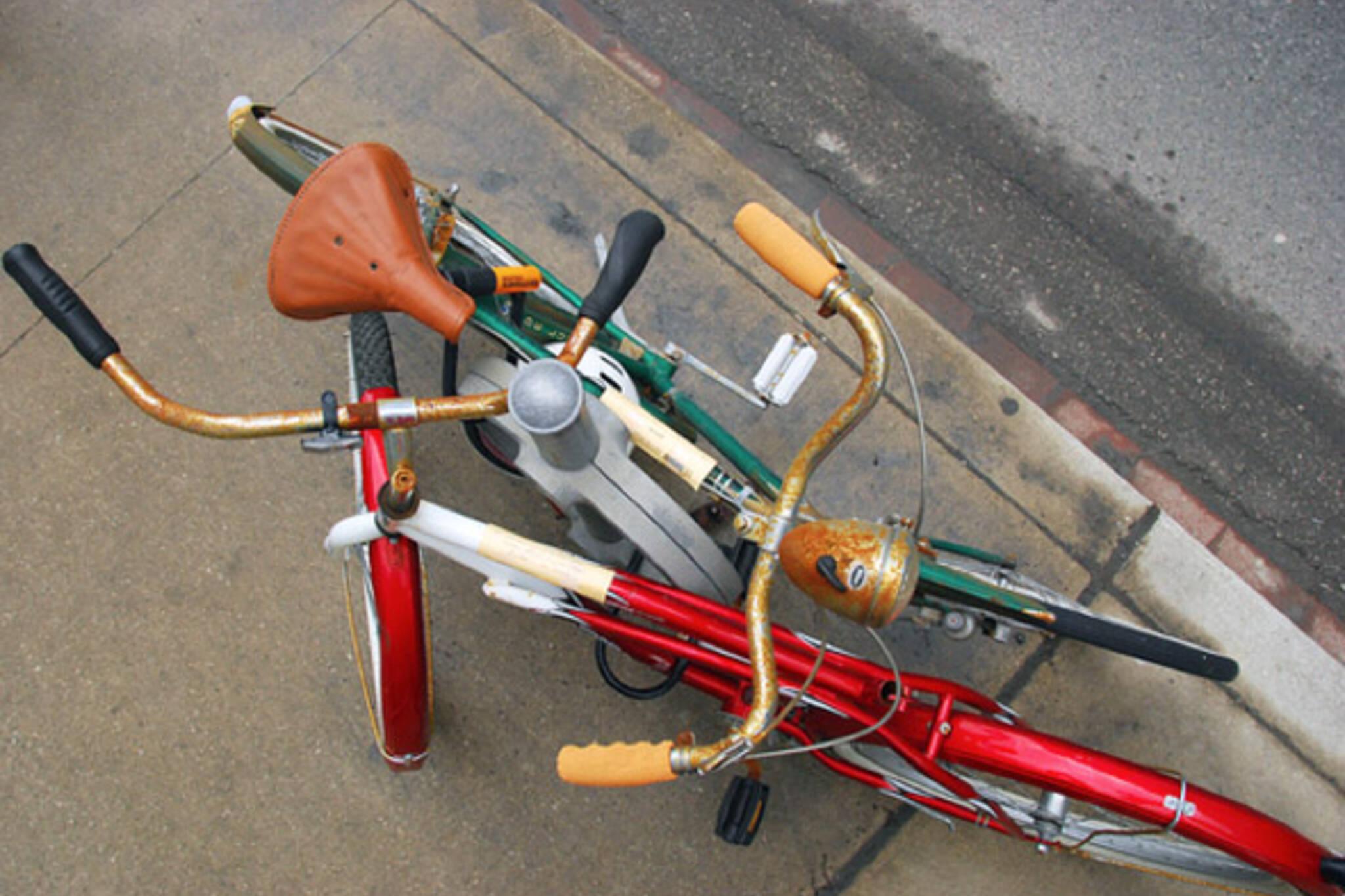 Abandoned Bikes Toronto