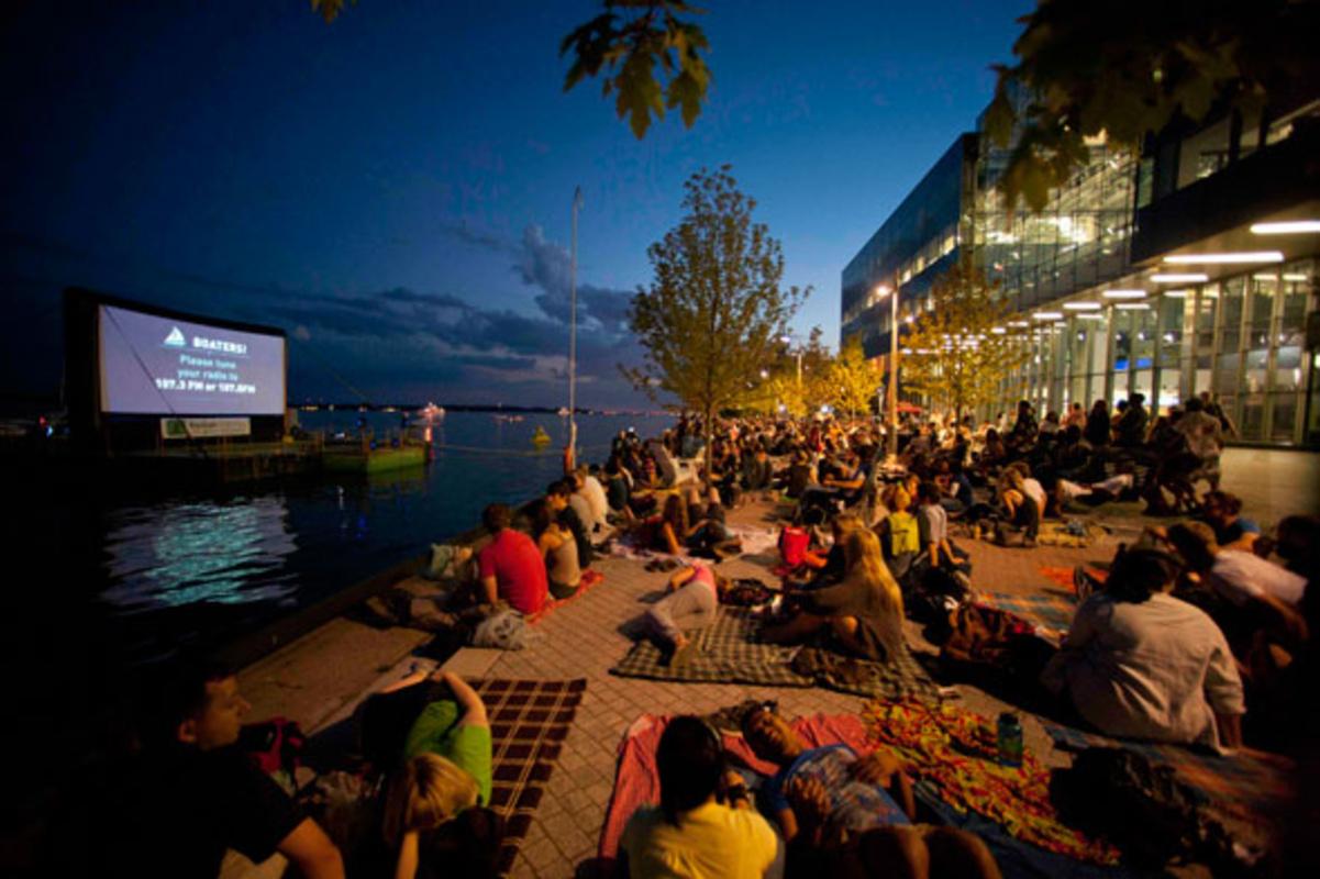 Outdoor Movie Summer Toronto